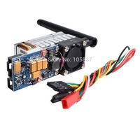 FPV 5.8G 500mW 600mA Video Audio Transmitter 4KM for 5.8Ghz RX 28dBm TS352 RC