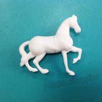 Cartoon pen drive animal white horse USB flash drive 2.0 Pen stick memory U disk 4GB 8GB 16GB 32GB
