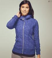 New Stock~ Lulu Scuba hoodie lady yoga wear casual lulu hoodies sweatshirts outwear top for women