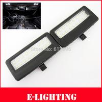 2pcs Error Free 18SMD LED Vanity Mirror Sunvisor Light For BMW F01 F02 F03 F04 F07 F10 F11