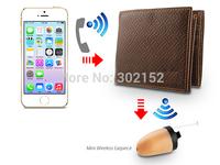 4.5 Watts Long Distance Powerful GSM Wallet with Wireless Mirco Hidden Earpiece