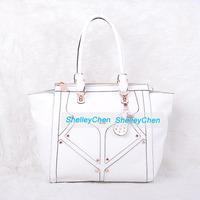 2014 New fashion rivets handbag ladies shoulder bag female bag