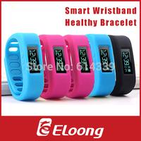 Eloong Fashion Bluetooth 4.0 Smart Sports Wristband Healthy Bracelet Sleep Tracking Health Fitness Pedometer P032
