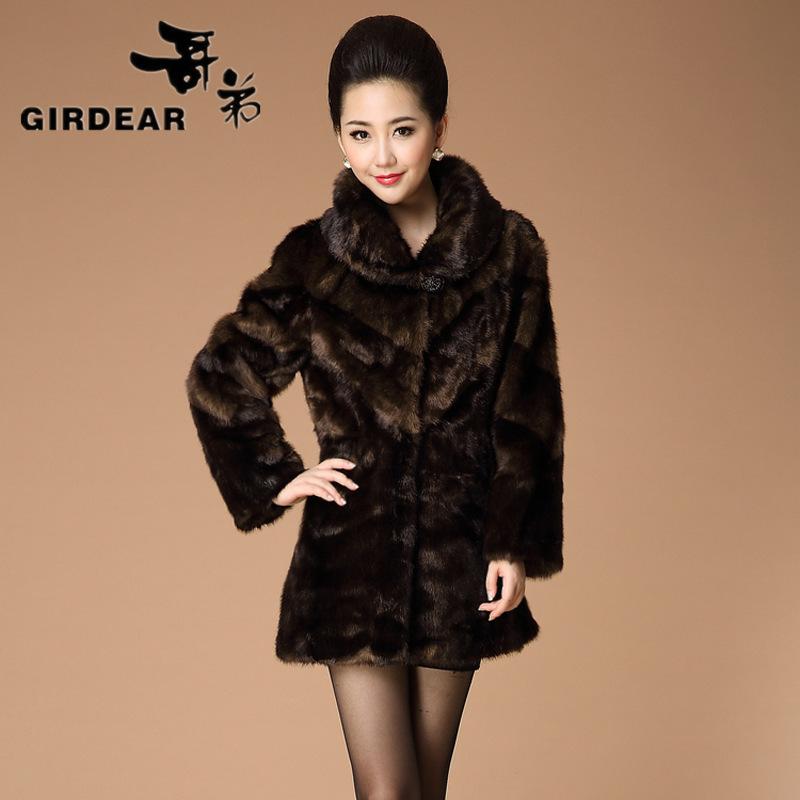 Женская одежда из меха OEM 3XL/wl40