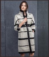 The whole network winter berber fleece fur coat female long design overcoat
