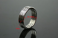 free shipping 15mm*40mm/45mm/50mm metal cockring penis ring sex toy sex products male erection and delayed time cock ring dildo