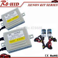 Superior Quality X3 Canbus HID Xenon Conversion Kit AC 12V 35W H1 H3 H7 H8 H9 H10 H11 9005 9006 880 Xenon Lamps Bulbs Error Free