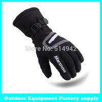 Dropshipping 2014 winter professional ski gloves girls boys waterproof warm gloves Christmas gift snow kids waterproof gloves