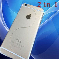 New 2014 Luxury 2 In 1 Full Body HD Clear Screen Protector iPhone 6 6g4.7 Inch Guard Protector Film iPhone 6