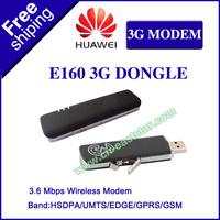 Huawei Brand New Original E160 3G USB Modem HSDPA USB wireless 3.6 Mbps unlocked dongle ES-1221E
