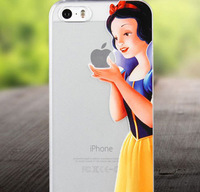 coloured drawing mobile phone hard protector cases/cover bags Snow White Princess Branded new arrival for Samsung note 2