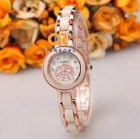 branded women bracelet watch woman dress fashion watches ceramic bangles casual wristwatches flower style female quartz clock