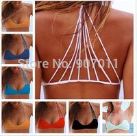 2015 brand swimsuit explosion models hanging neck strap bikini swimwear women brazilian bikinis free shipping DST-0167
