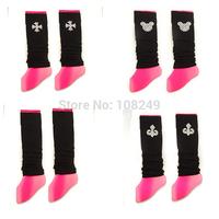 2014 New Arrival Women Girls Leg Warmers Boot Cuffs Ladies Winter Fashion Boots Socks Rhinestone Decoration