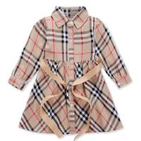SALE Children clothing brand kids clothes Summer Fashion half sleeve princess dress geometric Girls dress baby girl dresses A145