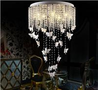Modern Design European Style Led Bulbs Angel Crystal Ceiling Lamp Christmas New Year Decoration