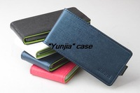 Hot Sale for Asus Zenfone 5 Case Luxury PU Leather Case for Asus Zenfone 5 Open Up and Down 4 Colors Free Shipping
