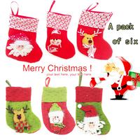 2014 cute Christmas Decoration Snowman Santa Claus reindeer herding style Christmas ornaments