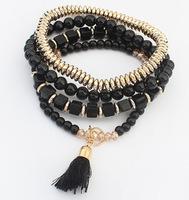 cxt911390 Party Bohemian Gift  Brand Beads Tassel Vintage Indian Charm Bracelets Bangles Women