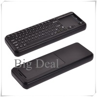 2.4G Wirelss Keyboard 2.4G HZ Wireless Transmission Remote Control Mini Shape for Laptop ABS Material Free Shipping