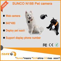 Free shipping 57.5*53*31 480p Pet camera 1280*960 Photograph Deploy pet leash Web camera N188