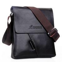 New collection KRG kangaroo men bags, men casual leather stylish messenger bag, brand designer man small crossbody shoulder bag