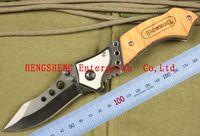 Hot Selling OEM BROWNING - Three Eye Camping Folding Knife 56HRC 440C Free Shipping (120g)