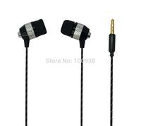 High Quality Super Bass Stereo In-Ear Earphone Headphone Headset For MP3 MP4 PHONE FAAEP-C007 Black