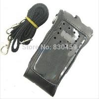 Original Leather soft case for Walkie Talkie Wouxun KG-UVD1P KG-UV6D KG-659 KG-669 KG-699 KG-801
