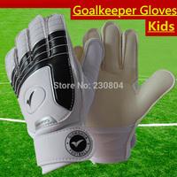 Kids Soccer goalkeeper gloves,Non-slip goaltender gloves,Children football goalkeeper gloves professional,high quality gloves!!