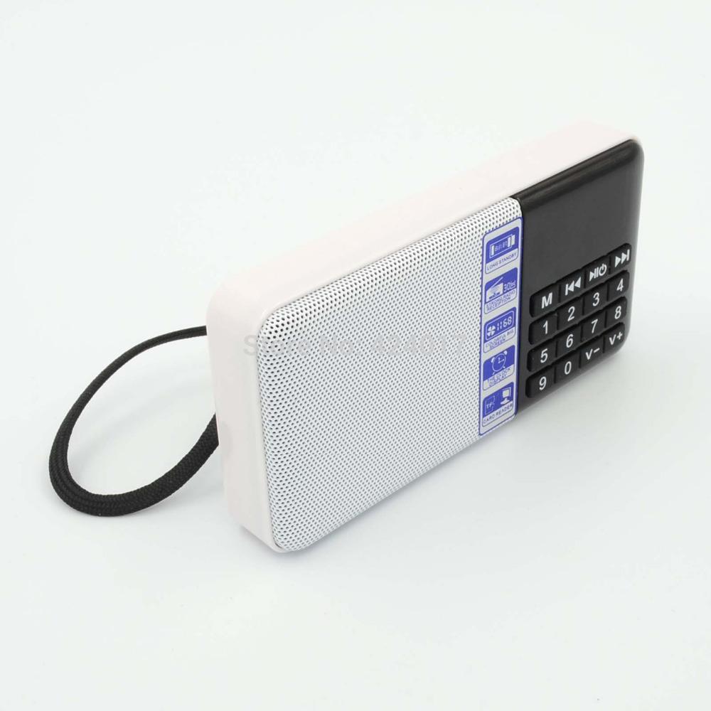 Hot Portable Mini Speaker Amplifier FM Radio USB Micro SD TF Slot MP3 Player PC