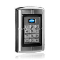 ID/EM metal kepad Access Control Reader   125KHz Reader     Metal Wiegand 26 Reader Waterproof