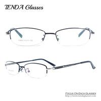 Fashion Designer Metal Half Rim Eye Glasses Frames For Women Eyeglasses Men Prescription Eyewear