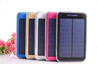 YSYZ3W-A Solar Backup External USB Charger Power Adapter Solar Panel Power Bank for iPhone/iPad/Samsung