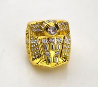 Free shipping fashion replica 18k gold plated 1998 basketball world Championship Ring