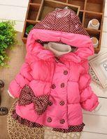 2014 Hot winter jackets for girls winter coat children Outerwear & Coats Down & Parkas kids Jackets & Coats baby clothing