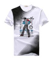 2015 summer new fashion men's short-sleeved t-shirt men's round neck t-shirt top brand t-shirt