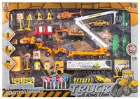 Free shipping 2014 hot sell Engineering car alloy car models set toy car/babytoy