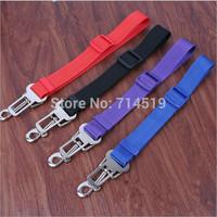 2.5cm Pet Dog Cat Harness Training Adjustable Practical Safety Leash Seat Belt Restraint Lead Travel Clip 4 color