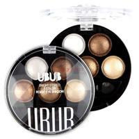 Pigment Eyeshadow 5 Colors Eye Shadow Powder Metallic Shimmer UBUB Warm Color 8807