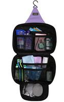4 Color Fashion Travel Wash Bag Storage Case Large Capacity Cosmetic Bags Outdoor Hanging Sorting Bags Waterproof Handbag