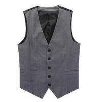 2014 Beckham vest men's casual suit vest tank tops vest undershirt beer for men Slim Fit Fashion dark grey colete masculino