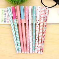 10 pcs/Lot Color Gel Pen Kawaii Stationery Korean Flower Canetas Escolar Papelaria Gift Office Material School Supplies #0131