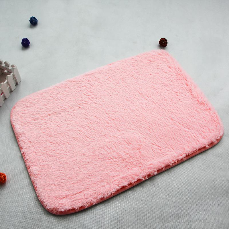 Grátis frete Hot 60 cm * 90 cm tapetes mat pad tapetes de lavável cama tapete de pelúcia sala de café personalizado tapete(China (Mainland))