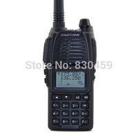 2Pcs /lot  Zastone UV-55 Walkie Talkie dual band VHF/UHF 136-174MHz &400-470MHz Two way radio