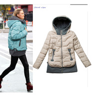 Free shipping Fashion Ladies' Outerwear Coat Winter Women Slim  Zipper Jacket promotion item