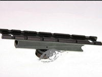 Standard 20mm Weaver Rail Scope Mount Base Carry Handle See Through Short 20mm Mount Base For M4/M16 Carry Handle 15A free ship