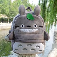 Korean fashion cartoon anime totoro cute plush backpacks school outdoor bag kids children kindergarten baby toy girl gift