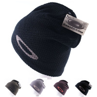Sports Winter Hats For Men Knitting Plus Velvet Outdoor Brand Warm Anti-cold Beanie Skullies Caps Black Brown Gray Army Green