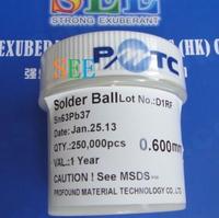 Leaded BGA Solder Balls 250K 0.60mm Pb Solder Balls 250 000 0.6mm